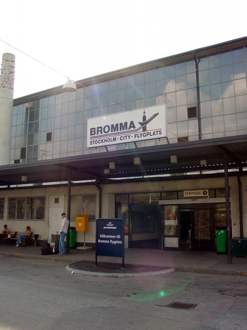 Bromman city-lentoasema