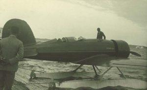 """Lindberghit ja """"Tingmissartoq"""" Helsingin lentosatamassa."""