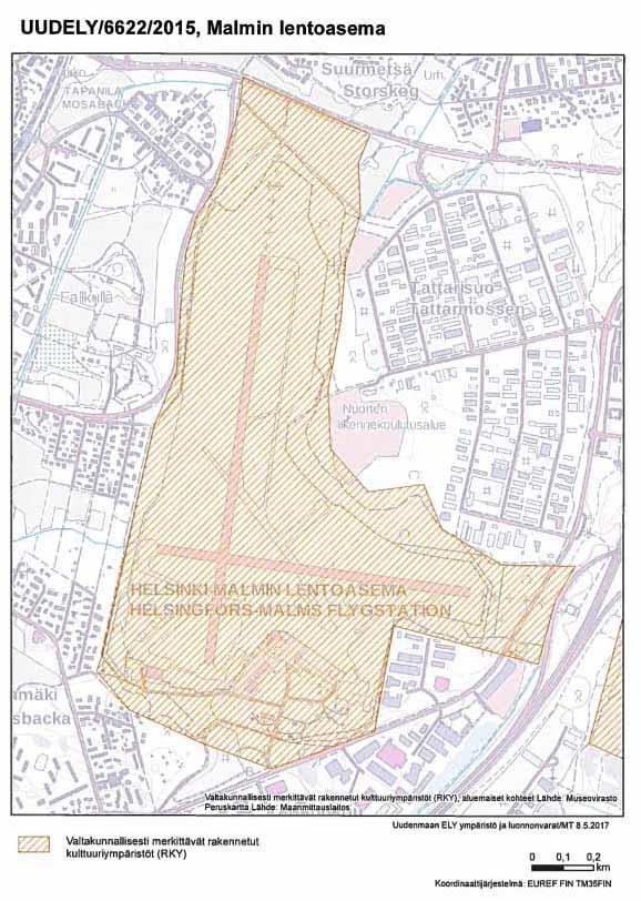 Area under Prohibition of Endangerment